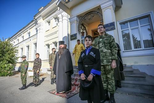 20 сентября 2020, Митрополит Кирилл совершил Божественную литургию в Андреевском соборе