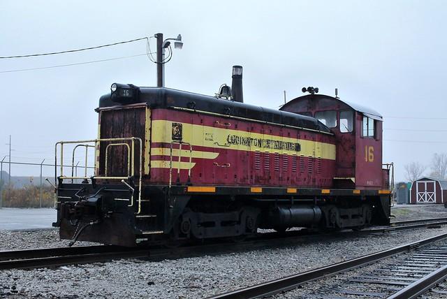 Pioneer Rail SW8 16