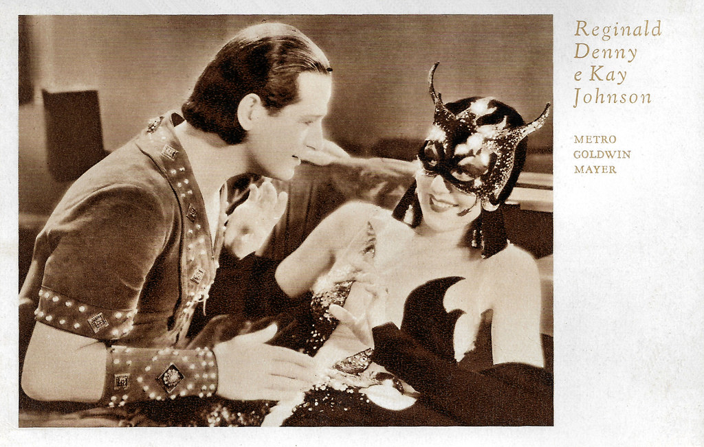 Kay Johnson and Reginald Denny in Madam Satan (1930)