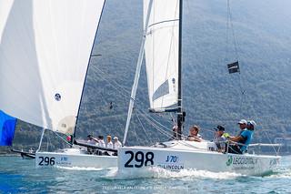 J70 Cup • Event 1 - Fraglia Vela Malcesine - Angela Trawoeger_K3I5659
