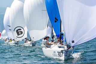 J70 Cup • Event 1 - Fraglia Vela Malcesine - Angela Trawoeger_K3I5391