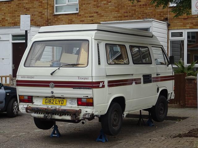 1989 Volkswagen Transporter T3 Camper Van