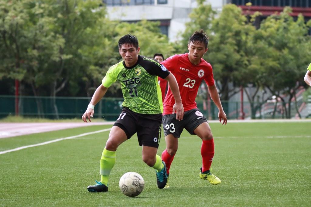 台灣鋼鐵21號馮少祺代替有傷在身的14號劉和翰上場,能攻能守表現亮眼