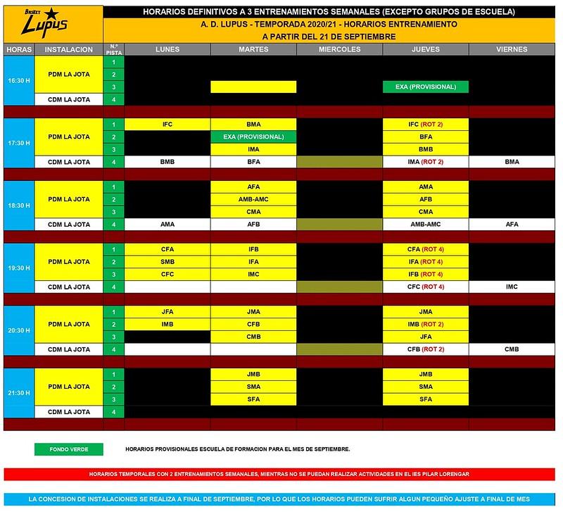 2020-21 HORARIOS ENTRENAMIENTO A PARTIR 21 SEPTIEMBRE - TEMPORAL 2 DIAS SEMANALES_page-0001