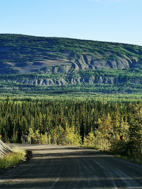 Canol Road Southern Section. Yukon Territory, Canada.