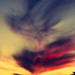 Sunset Sky Fire