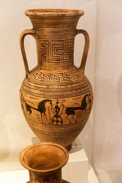 LGP Attic amphora – XVII