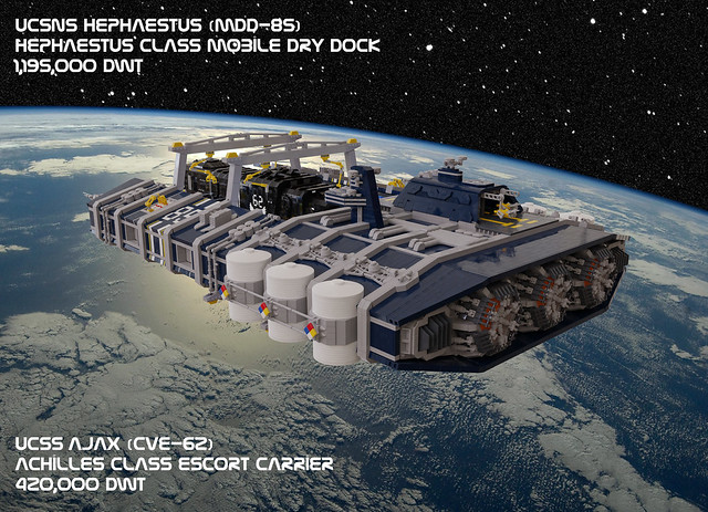 Shiptember 2020:  UCSNS Hephaestus and UCSS Ajax
