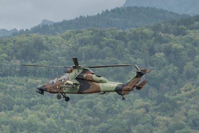 Eurocopter EC 665 Tigre HAD  (6019/BJS) - Aéroport du Versoud (Isère, France)