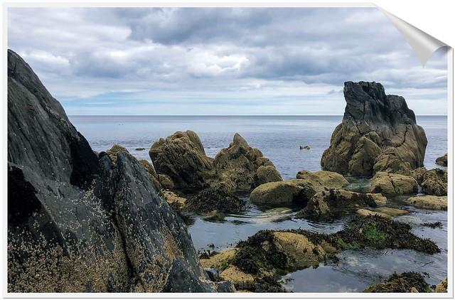 Rocks in da Sea.Ireland