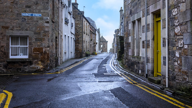 St Andrews, Junction of Market Street and South Castle Street