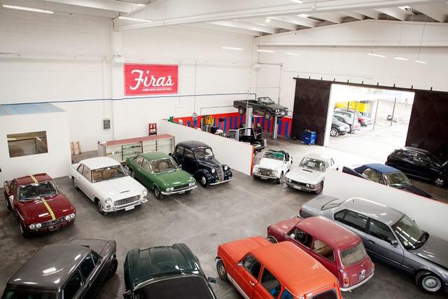 Lancia Fulvia Coupe' HF, Lancia Flaminia Coupe',Fiat 124 Sport Coupe',Fiat 1100 A,Fiat 500 Gamine,BMW 320i Cabrio,Lancia Fulvia Coupe' 1.3S,Innocenti Mini 1000,Renault 4 ecc