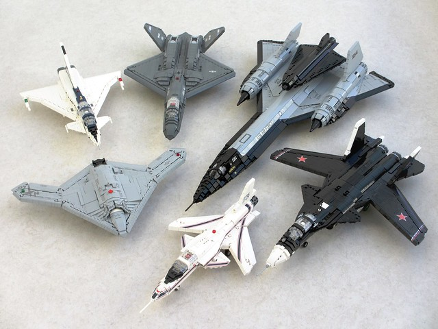 Experimental military aircraft