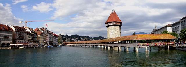 Der Kapellbrücke (Chapel Bridge)