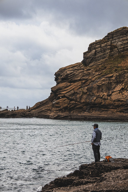 Fisherman, Jeju Island