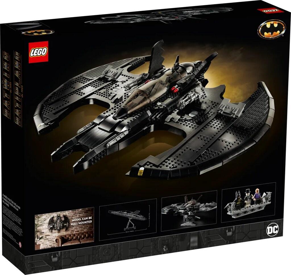 LEGO 76161《蝙蝠俠(1989)》1989蝙蝠戰機!可用特殊零件掛上牆