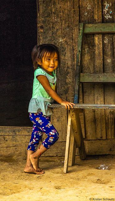 Hmong child, Laos