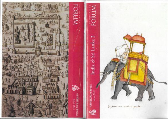 AntiquariaatForumAdherRareBooksIndiaAndSriLankaCatalogueCover