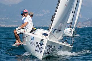J70 Cup • Event 1 - Fraglia Vela Malcesine - Angela Trawoeger_K3I5279
