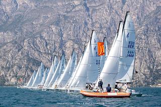 J70 Cup • Event 1 - Fraglia Vela Malcesine - Angela Trawoeger_K3I5243