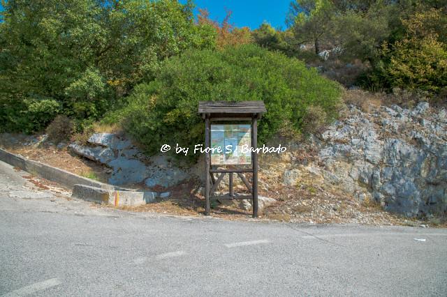 Profeti di Liberi (CE), 2020, La Grotta di San Michele Arcangelo. I sentieri.