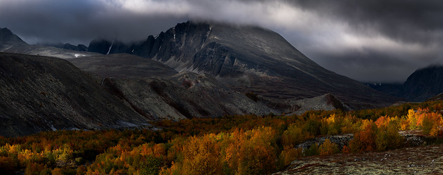 Rondane NP, seven vertical frames for this pano