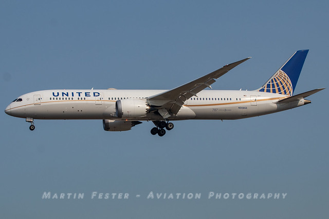 N35953 // United Airlines // Boeing 787-9 Dreamliner