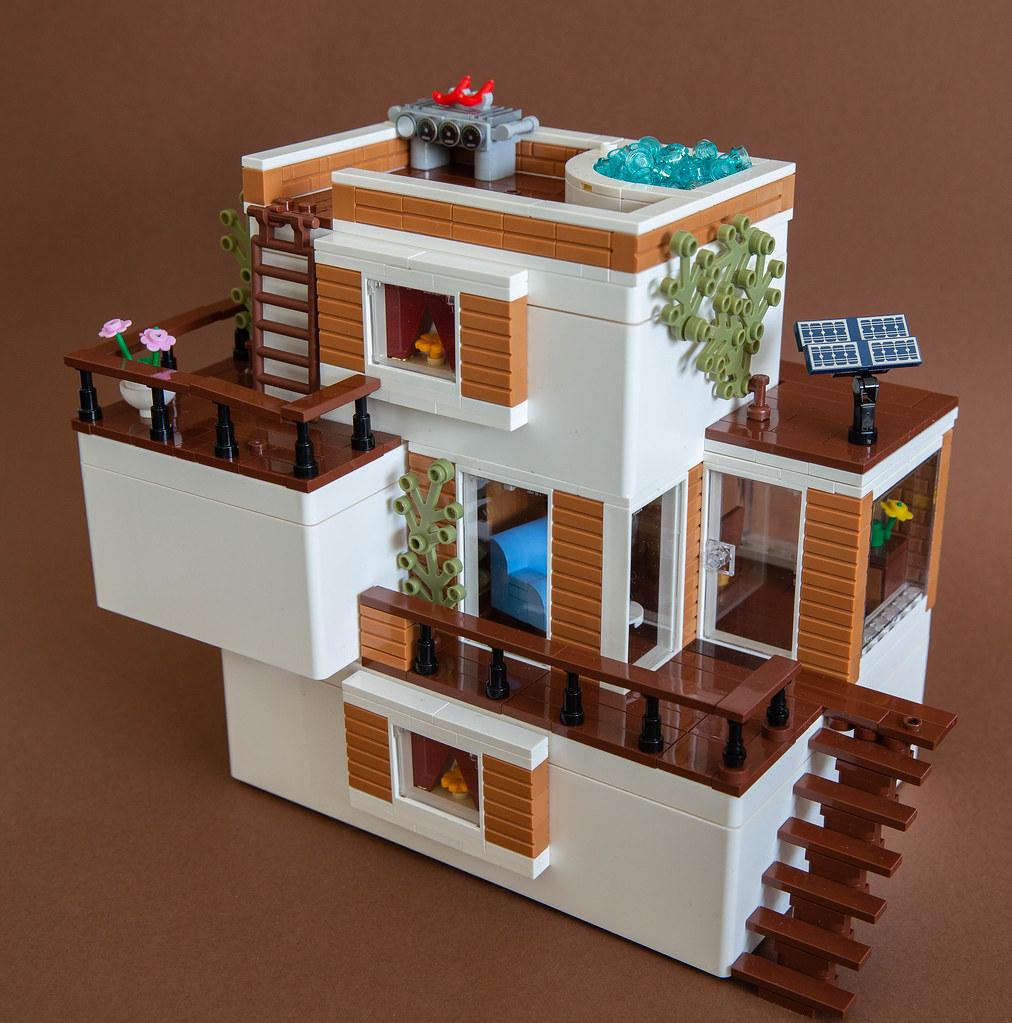 Bygglek Beach house