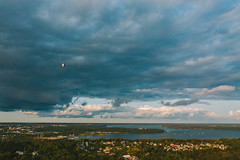 Hot air balloons | Kaunas aerial