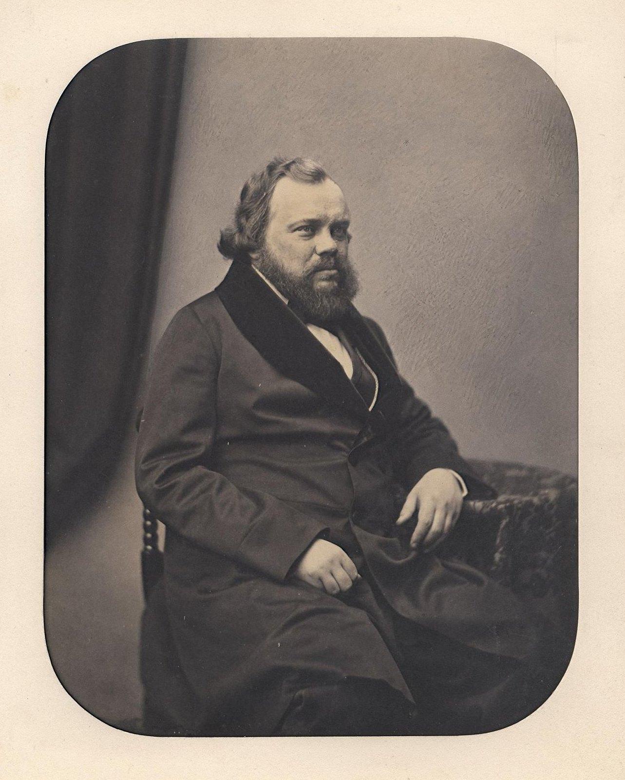 1850-е. Портрет Кокорева Василия Александровича