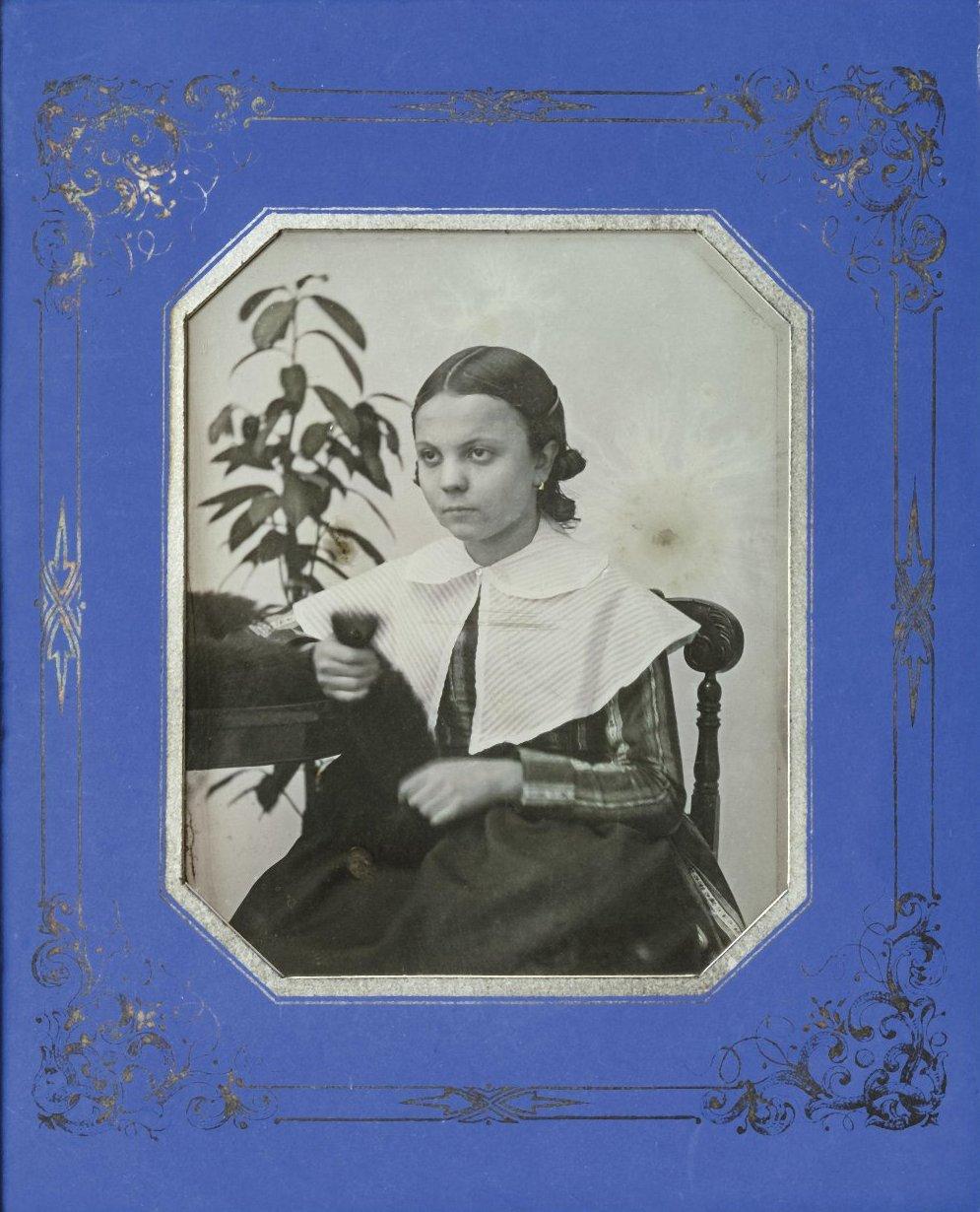 1848. Портрет неизвестной девочки