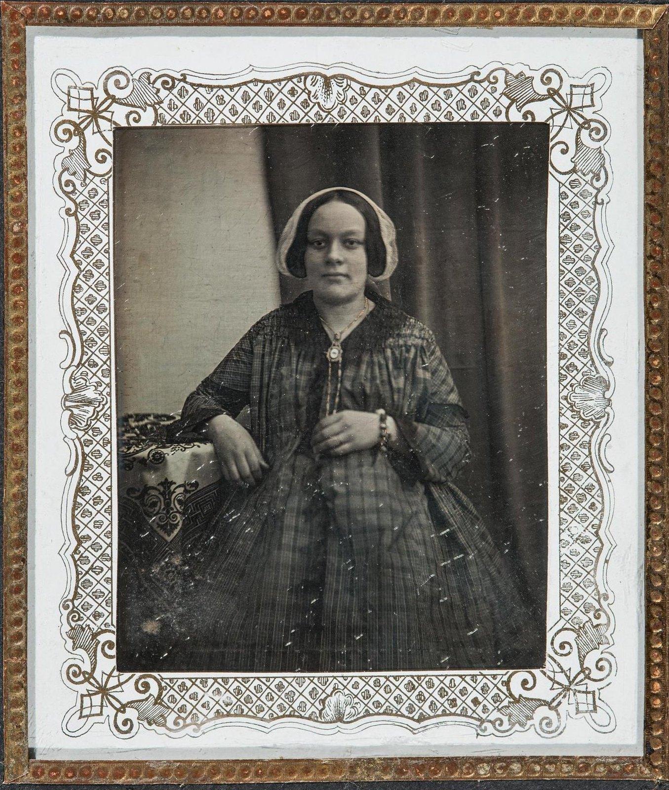 1847. Портрет неизвестной
