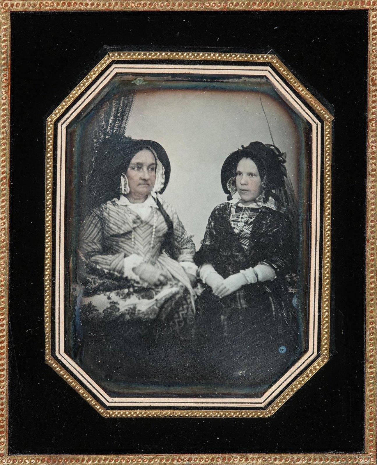 1845. Портрет А.И.Сухопрудской с дочерью