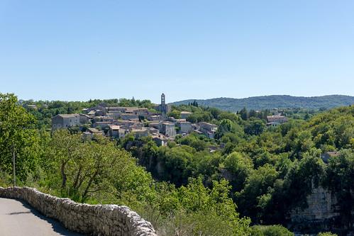Balazuc view