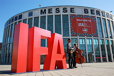 Day 2 of IFA 2020 Special Edition (3-5 September) in Berlin.