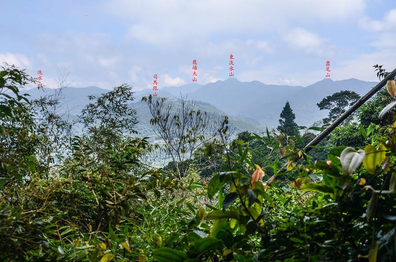 細道邦山1305峰東北望群山  1-1