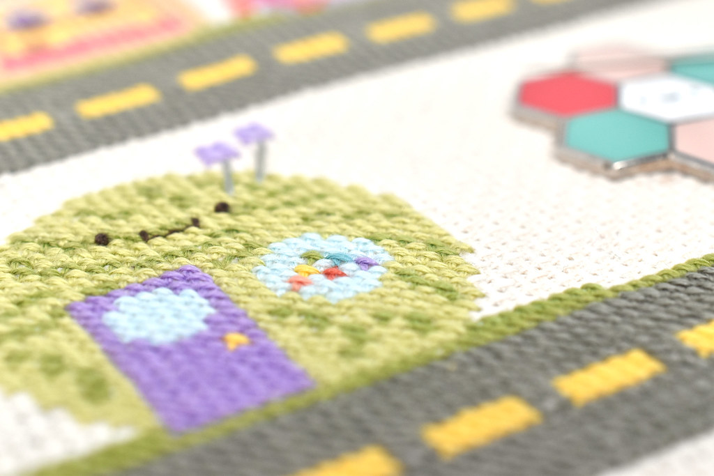 Kawaii Crossing Yarn Shop Cross Stitch