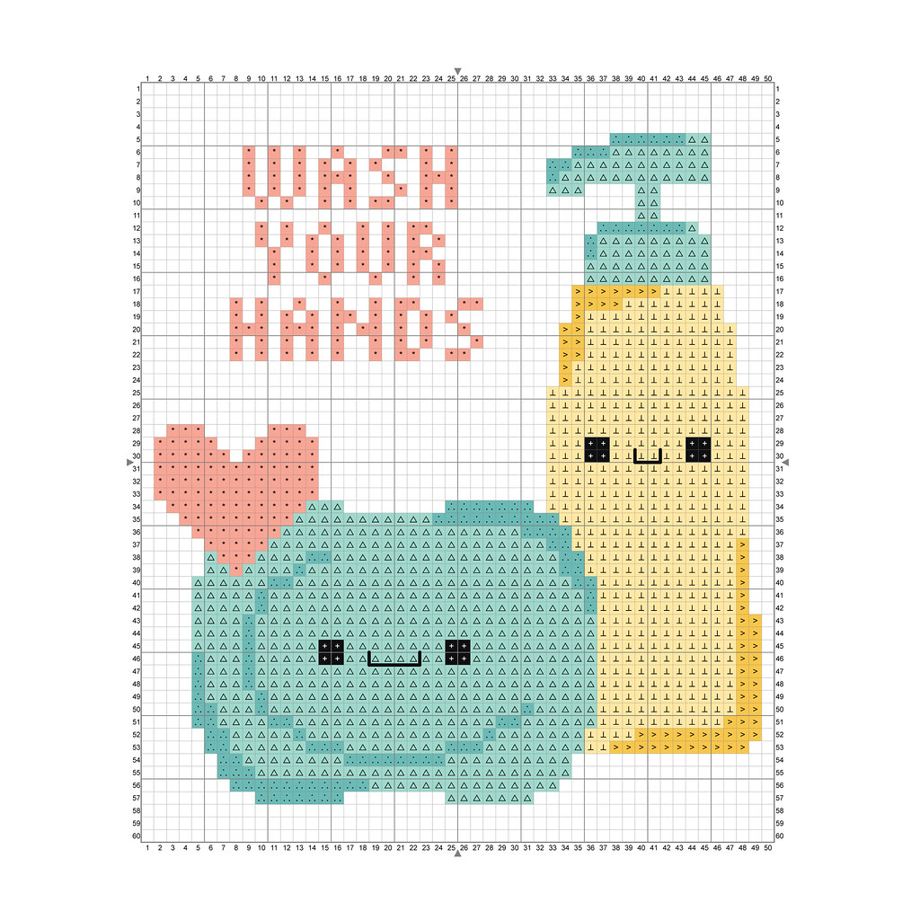 Wash Your Hands Pattern