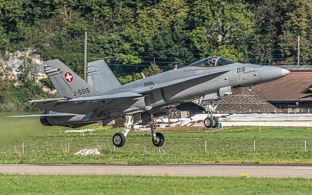 LSMM / SwissAirForce / Boeing F/A-18C Hornet / J-5015