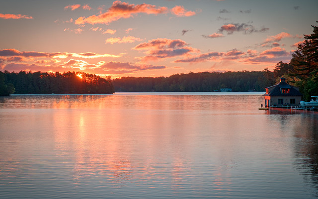 Sunrise Lake Minocqua