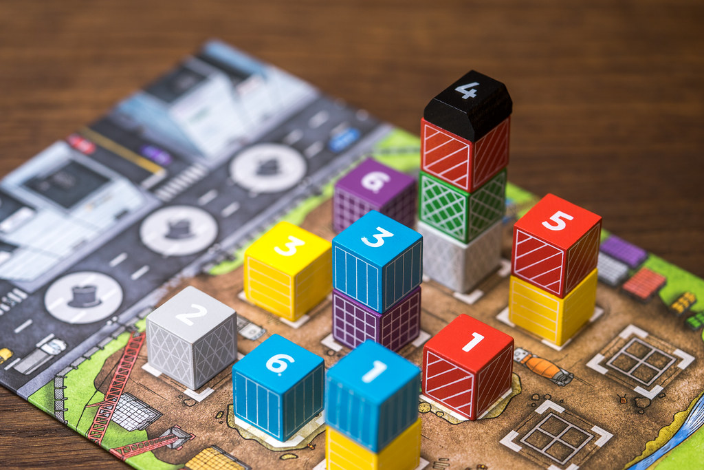 The Estates boardgame juego de mesa