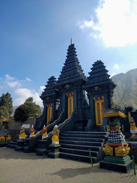 Pura Luhur Poten Gunung Bromo (temple near Mount Bromo / East Java, Indonesia)