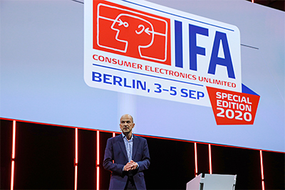 Dirk Koslowski, IFA Director at IFA 2020 Special Edition (3-5 September) in Berlin.