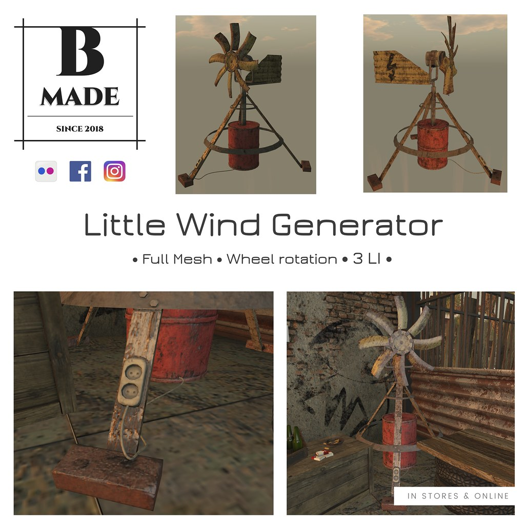 *NEW* - Little Wind Generator @ Mainstore