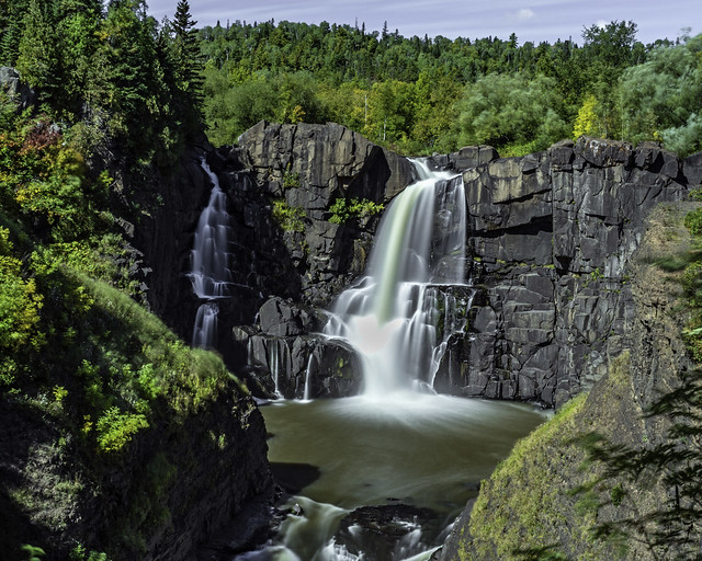 High Falls on the Pigeon River in Grand Portage State Park, Minnesota