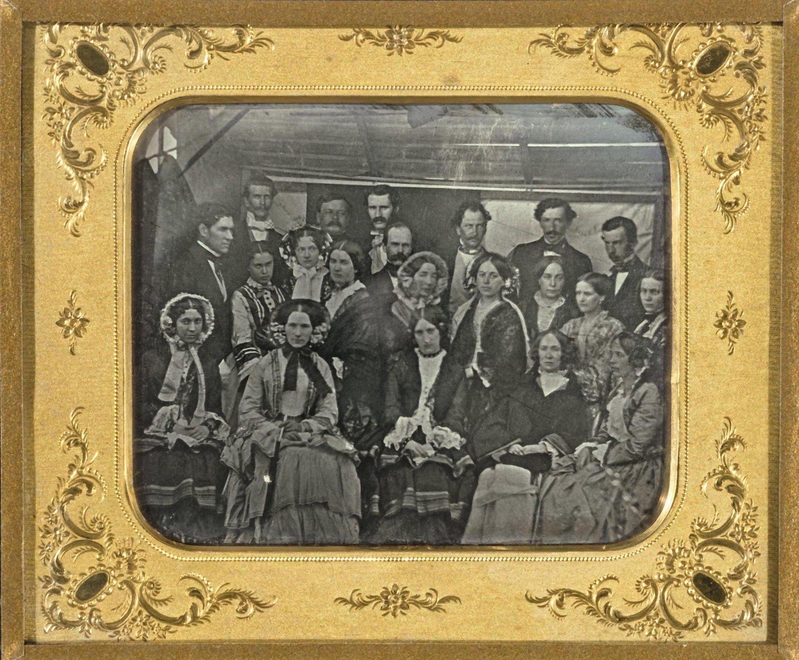 1852. Групповой портрет