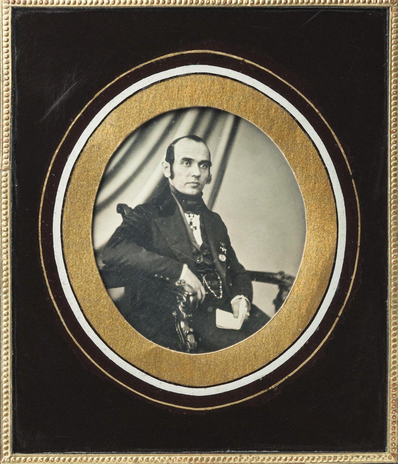 1850-е. Портрет П.С.Персина