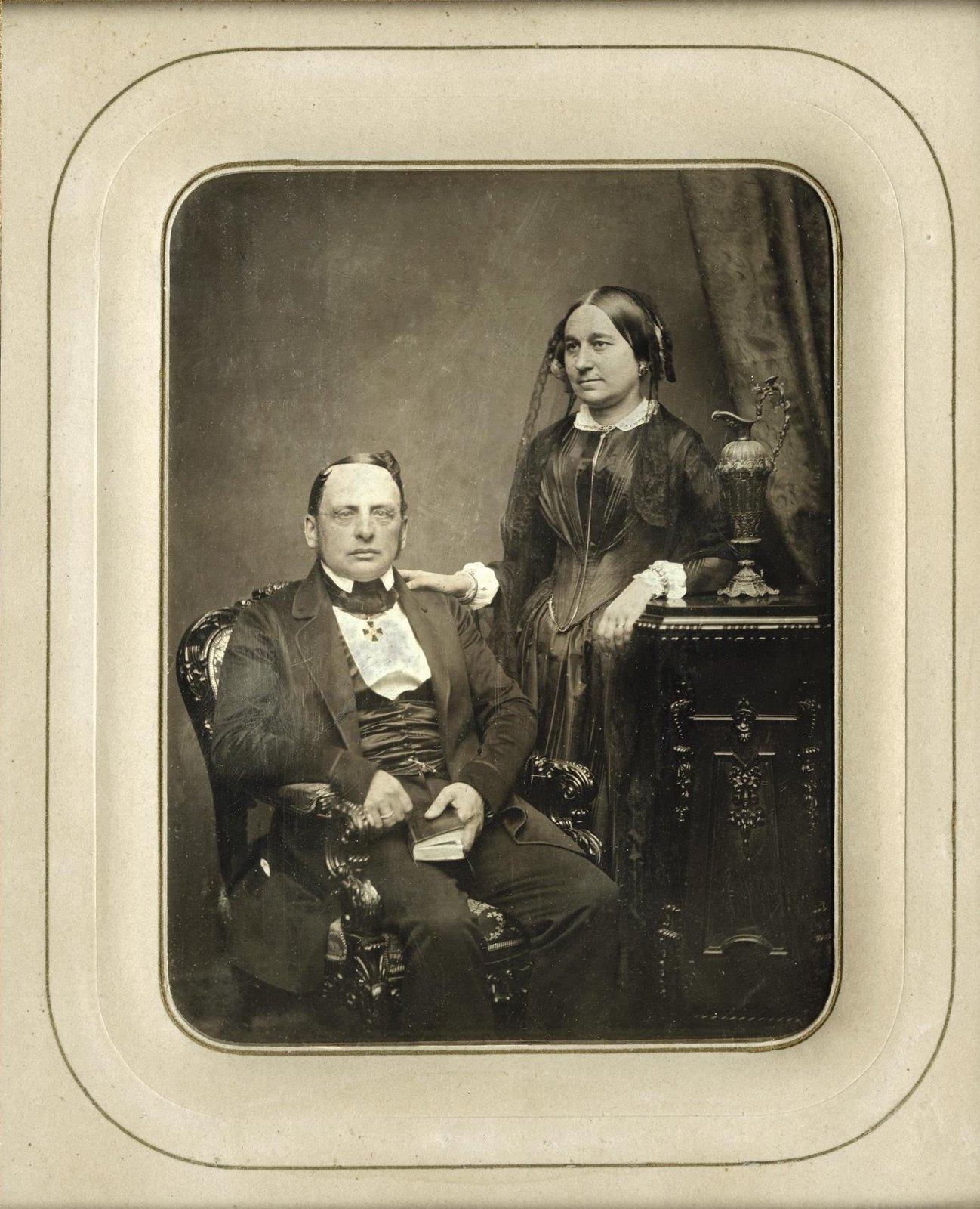 1849. Портрет неизвестных