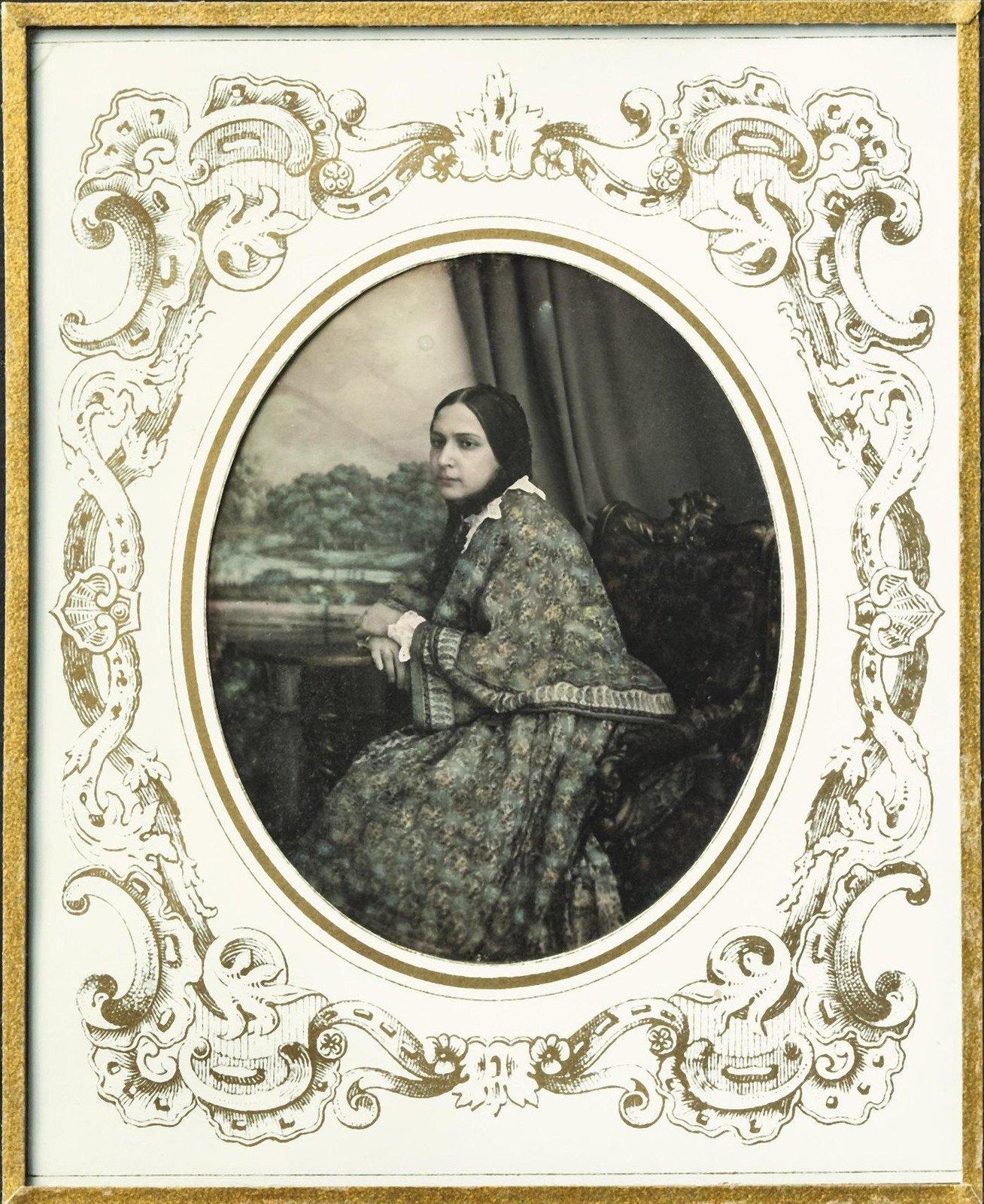 1840-е. Портрет неизвестной