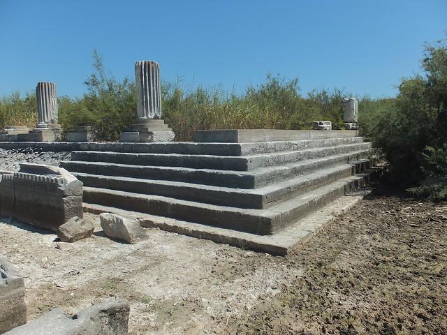 Temple platform